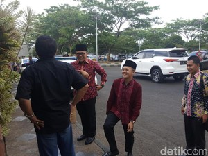 Sambut Megawati di Malang, Bupati Anas Gandeng Adik Lelakinya