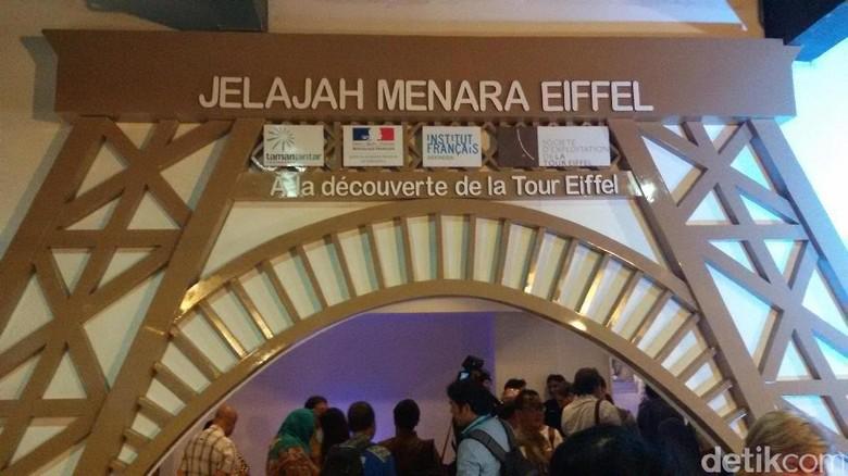 Foto: Menara Eiffel di Yogyakarta (Edzan/detikTravel)