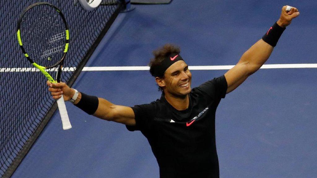 Highlights Rafael Nadal Juara AS Terbuka