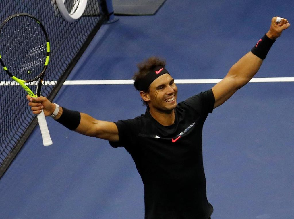 Highlights Rafael Nadal Juara AS Terbuka
