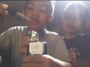 Anak Lain Bisa Tiru Aksi Anak di Bawah Umur Mengisap Rokok Elektrik