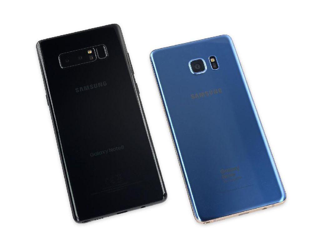 Ketika Samsung Galaxy Note 8 Dimutilasi