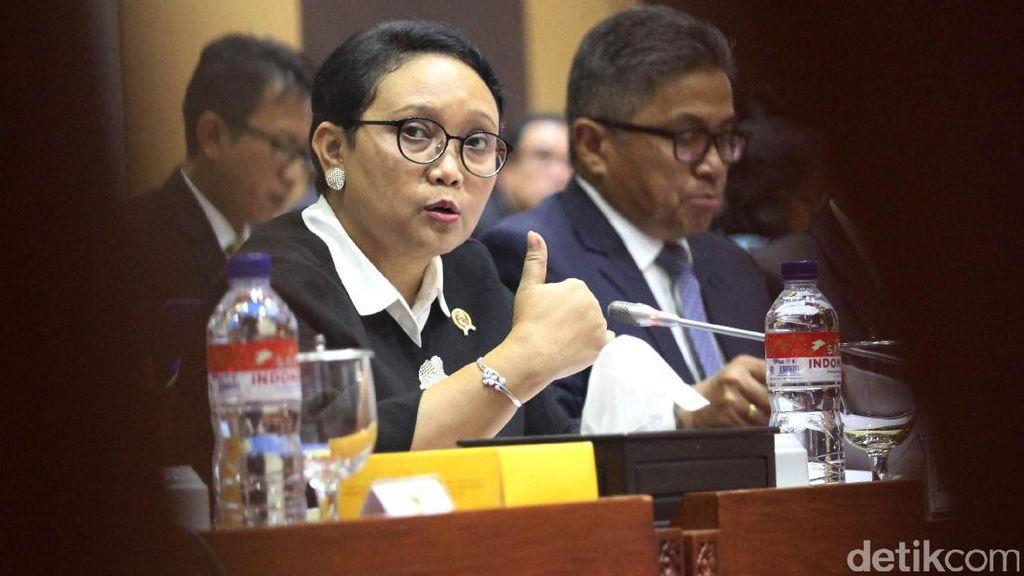 Menlu Banjir Pujian dari Anggota DPR soal Rohingya