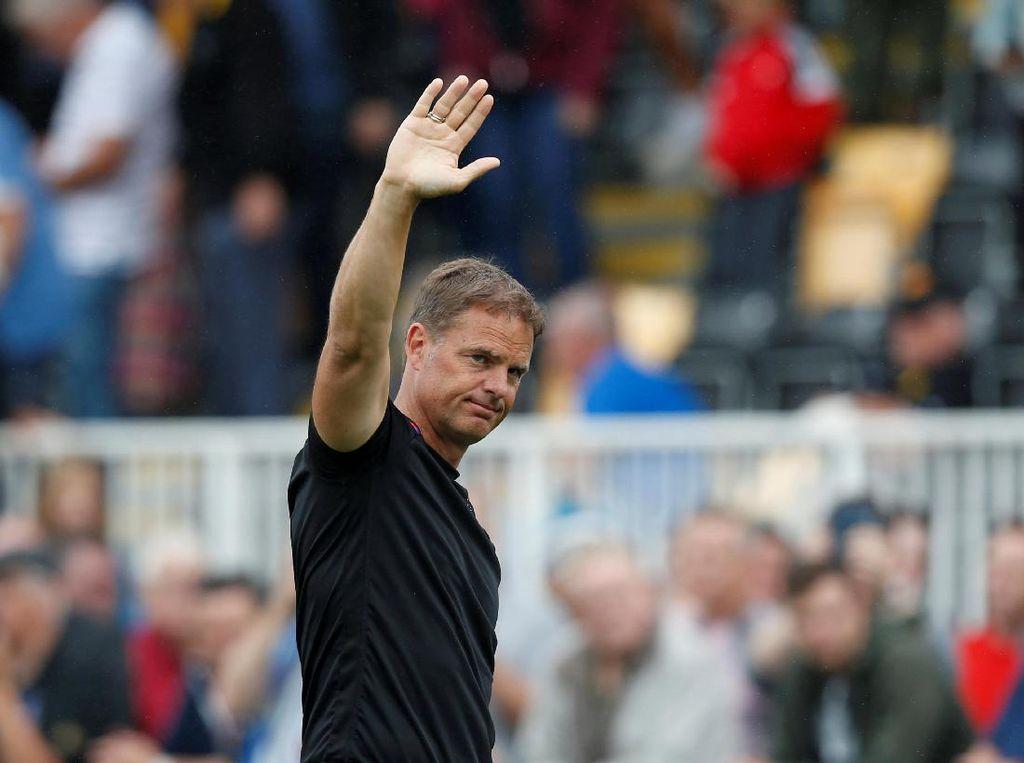 Frank de Boer Cuma 77 Hari Jadi Manajer Crystal Palace