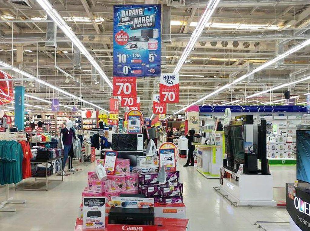 LED TV Baru Harga Tempo Dulu di Transmart Carrefour