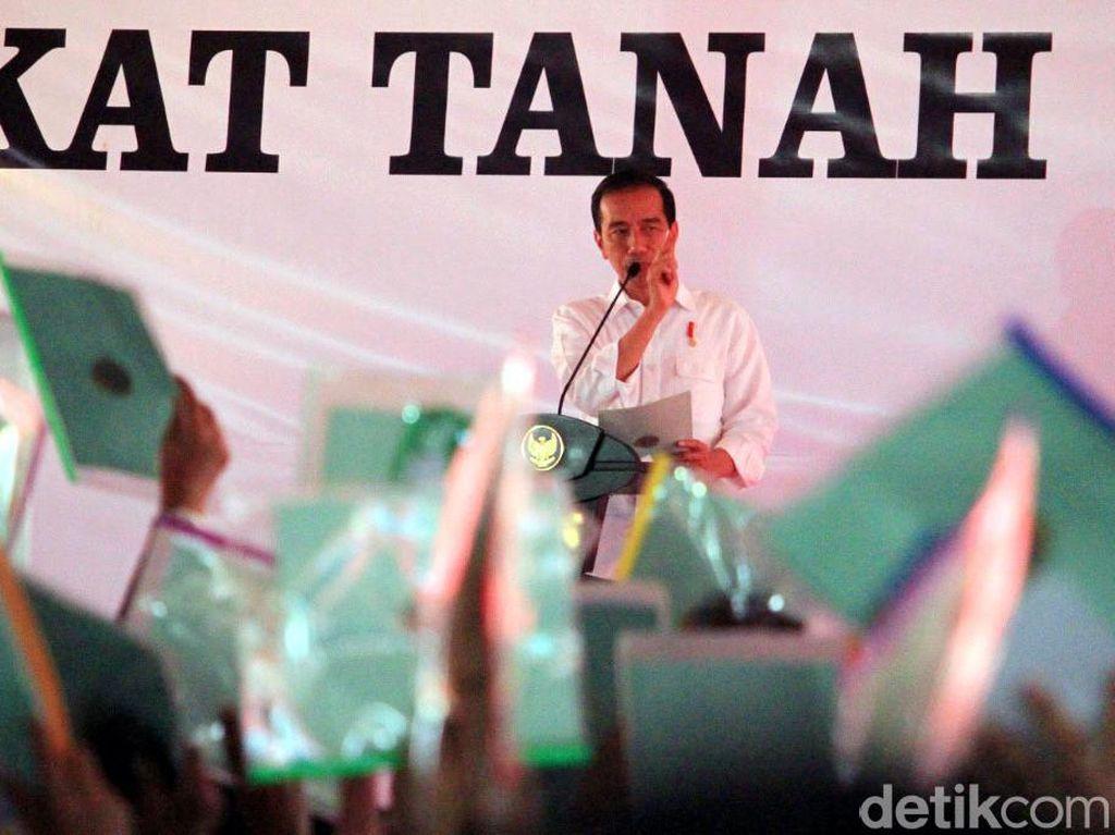 Biasa Bagi-bagi, Jokowi Justru Kehilangan 2 Sertifikat Tanahnya
