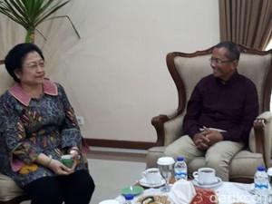 Bertemu Dahlan Iskan, Megawati Terima Masukan soal Pilgub Jatim