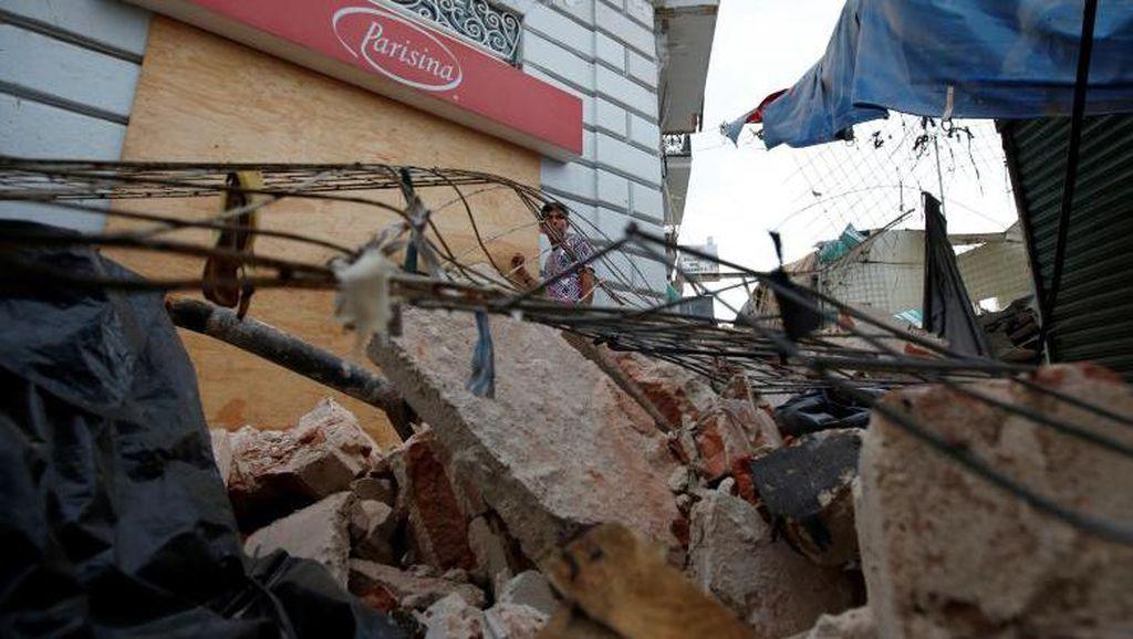 Melihat Meksiko Usai Gempa yang Tewaskan 71 Orang