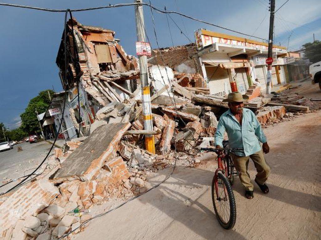 Hunian Rusak karena Gempa, Staf KBRI Mexico City Ngungsi ke Kantor
