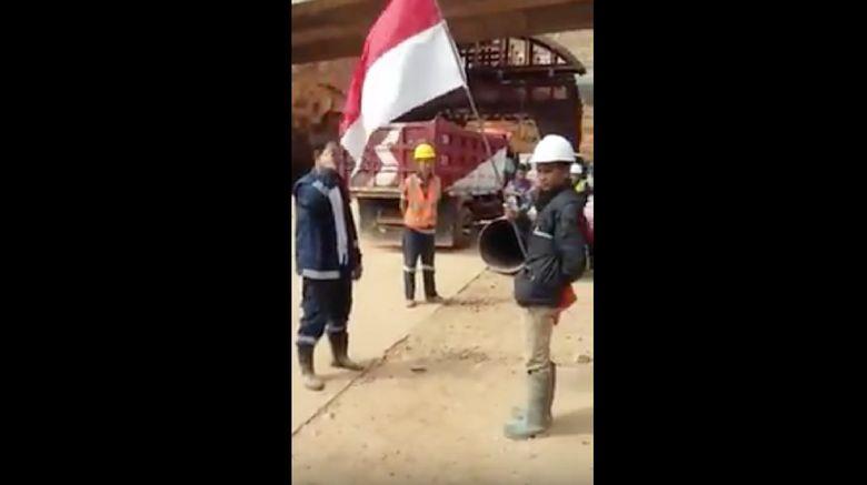 Viral Pekerja Asing Proyek Tol di Sumedang Dihukum Hormat Merah-Putih
