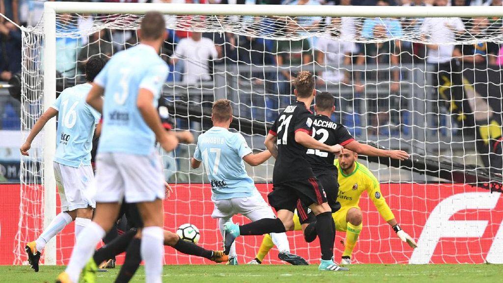 Lazio Benamkan Milan