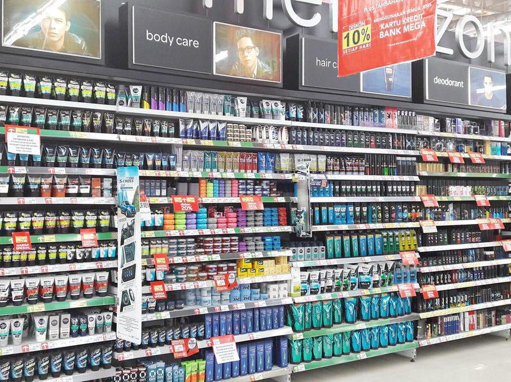 Kebutuhan Kebersihan Pria dan Promonya di Transmart Carrefour