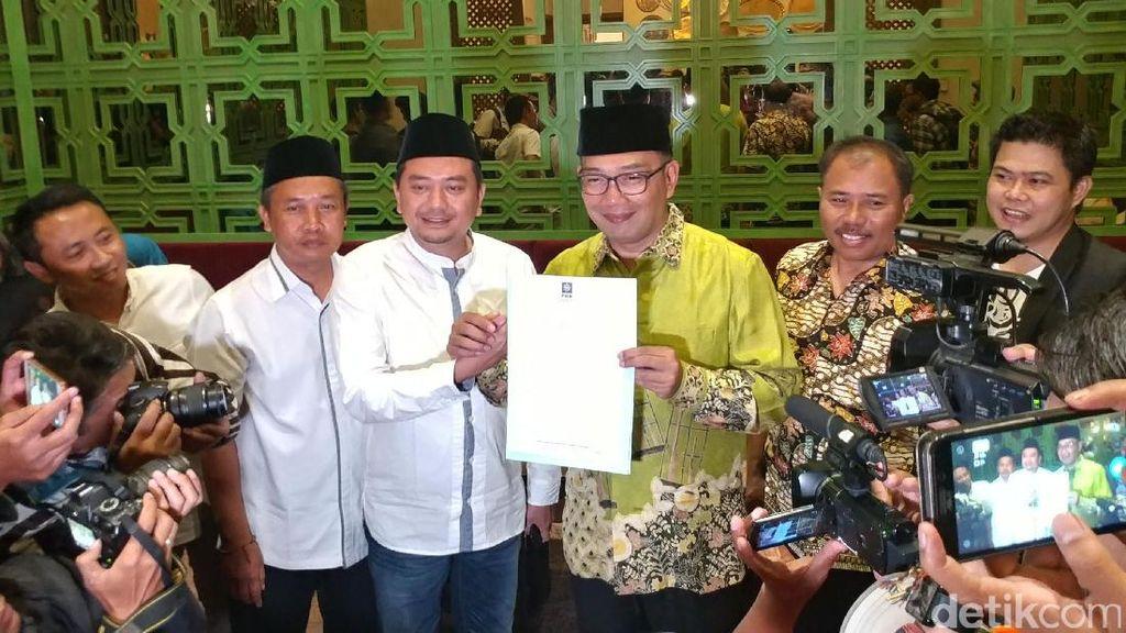 PKB Usung Ridwan Kamil di Pilgub Jabar