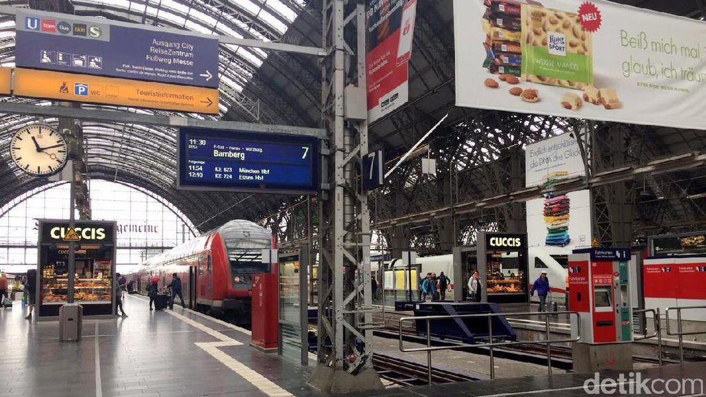Melihat Frankfurt Central, Stasiun Paling Sibuk di Eropa