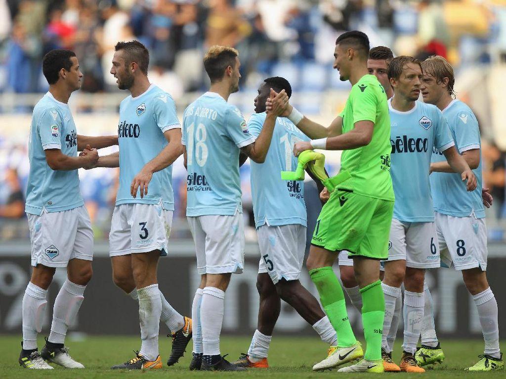 Lazio Mencuri Perhatian lewat Kemenangan Telak atas Milan
