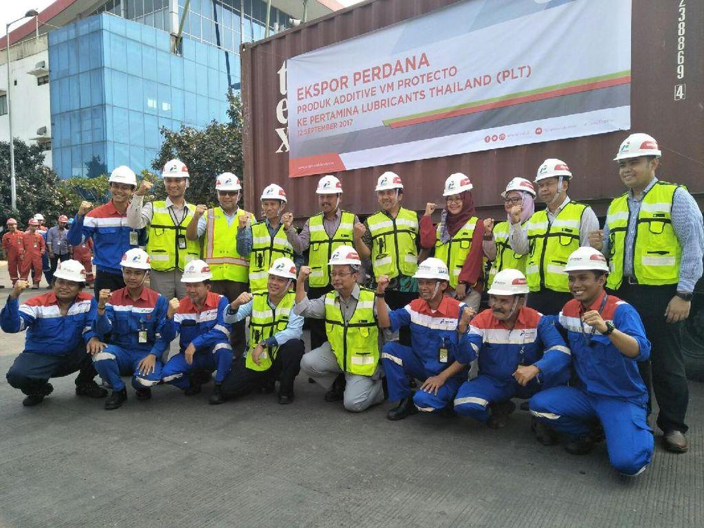 Pertamina Lubricants Mulai Ekspor VM Protector ke Thailand