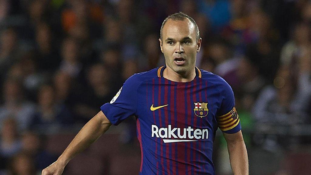 Iniesta dan Pemain Top Lain yang Masih Aktif Cuma Bela Satu Klub