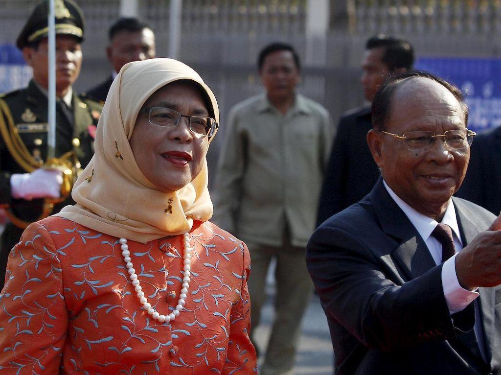 Kenegarawanan PM Lee Antar Halimah Yacob Jadi Presiden Singapura