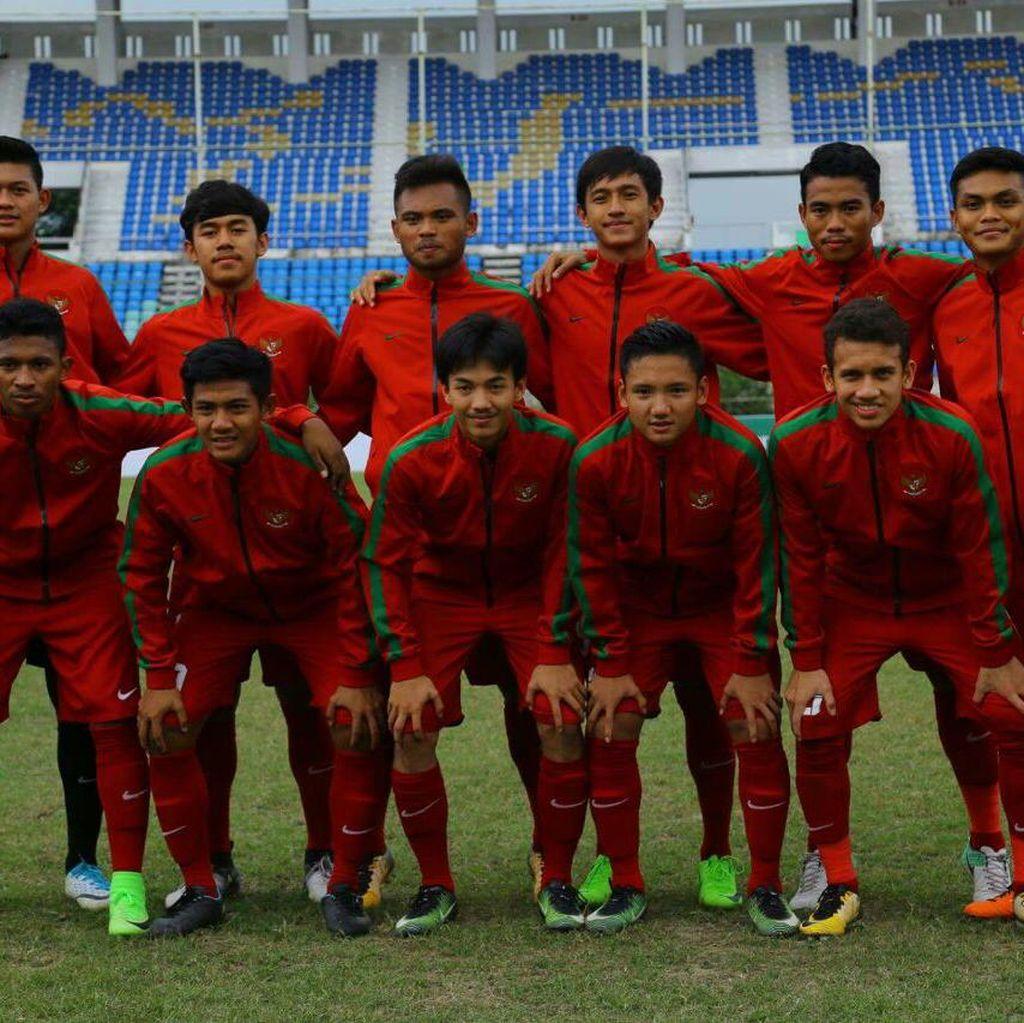 Indonesia Unggul 3-0 atas Myanmar Saat Turun Minum