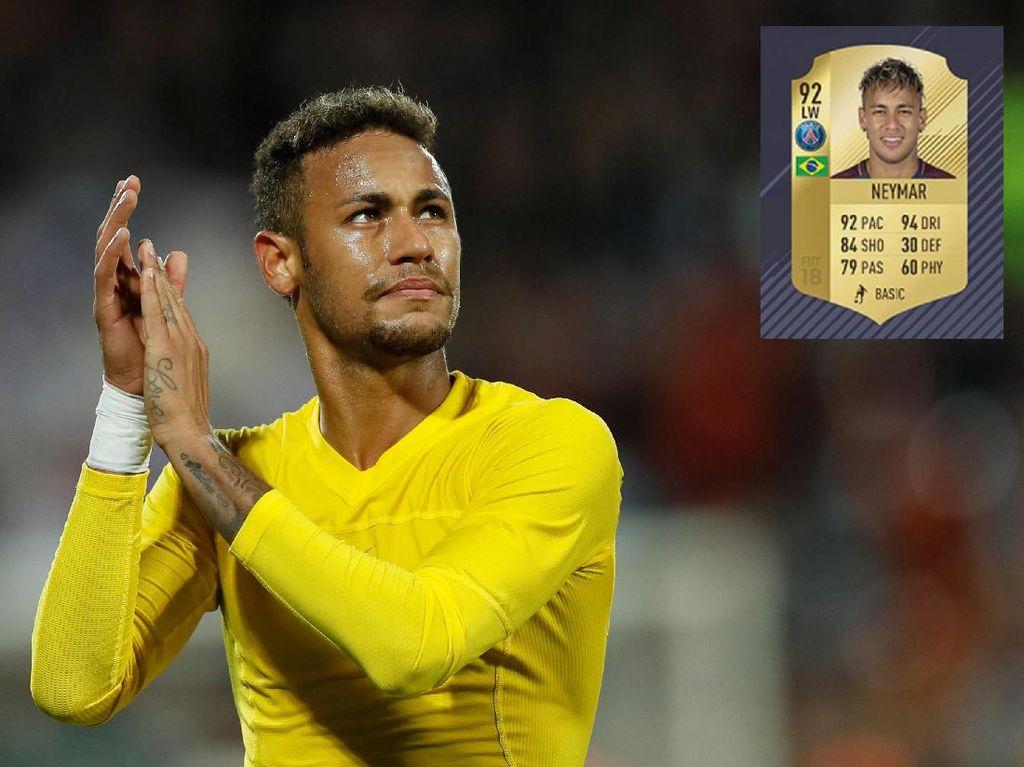 Para Pemain Termahal Dunia Melempem di FIFA 18