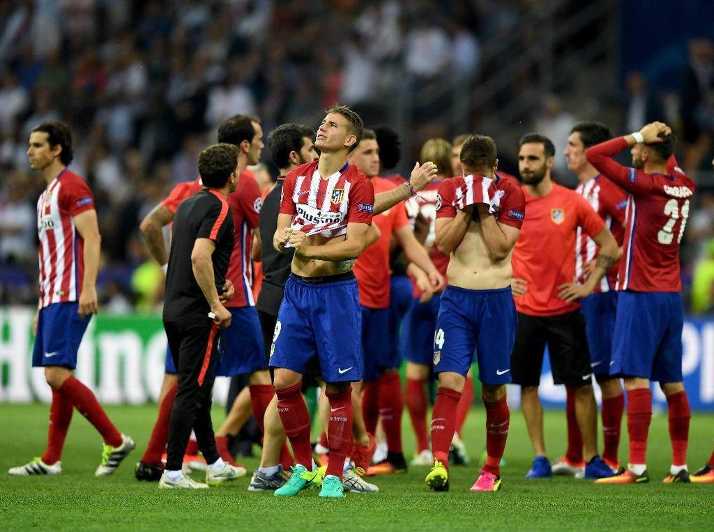 Atletico Belum Menyerah Buru Gelar Juara Liga Champions
