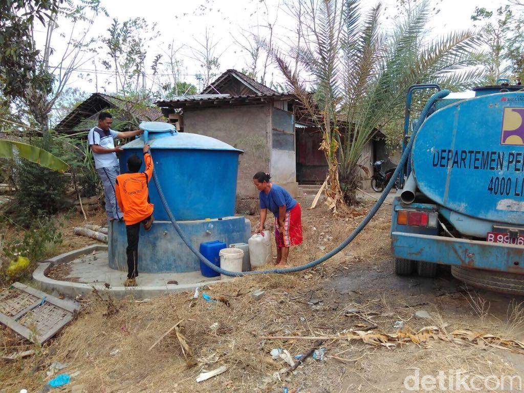Warga di Bondowoso Bersuka Cita Dapat Pasokan Air Bersih