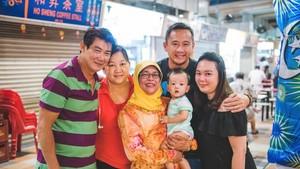 Potret Halimah, Calon Presiden Singapura yang Dekat dengan Keluarga