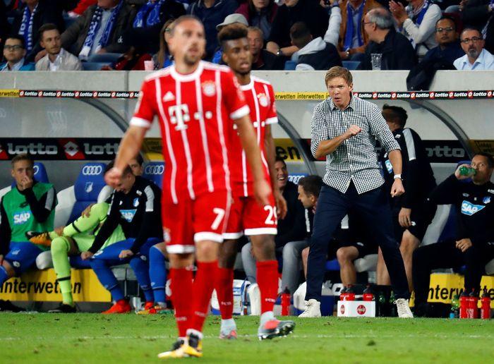 Akankah Julian Nagelsmann melatih Bayern Munich di masa depan? Foto: Kai Pfaffenbach/Reuters