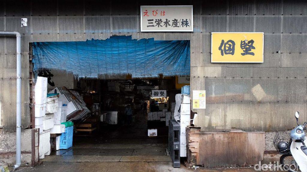 Foto: Bersihnya Pasar Ikan Tsukiji Jepang yang Dikagumi Susi