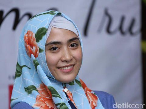 Sempat Alami Pengentalan Darah, April Jasmine Tak Kapok Hamil/