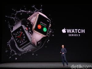 Apple Watch 3 Resmi Dirilis, Apa yang Baru?