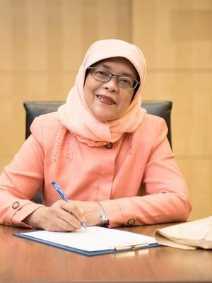 Halimah, Presiden Nasi Padang yang Tetap Tinggal di Rusun Singapura