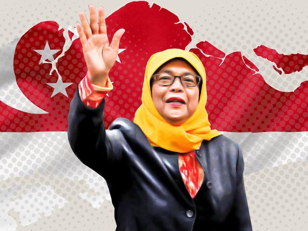 Halimah Yacob, Muslimah Pertama yang Pimpin Singapura