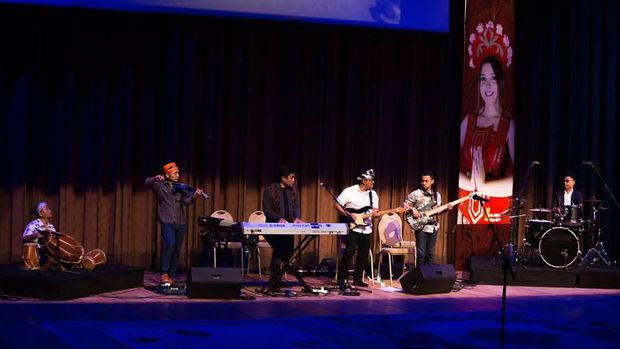 Indonesian Cultural Festival di Azerbaijan (UGC CNN Student/Astrid Septriana)