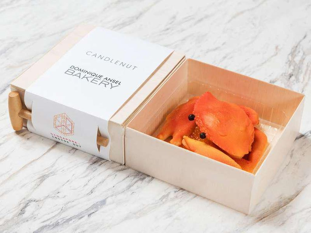 Dominique Ansel Buat Dessert Bentuk Chilli Crab yang Menggemaskan!