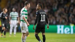 Foto: Panasnya Neymar vs Ralston