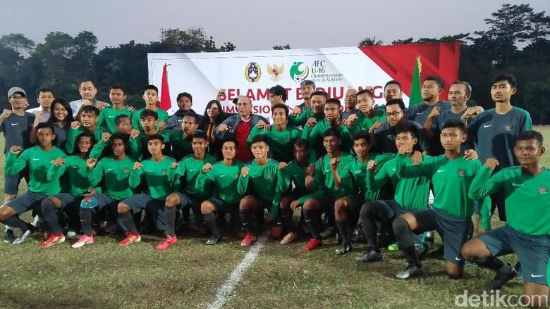 PSSI Lepas Timnas U-16 ke Kualifikasi Piala Asia
