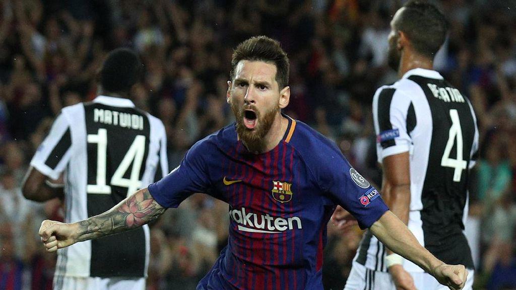 Messi Akhirnya Bisa Bobol Gawang Buffon