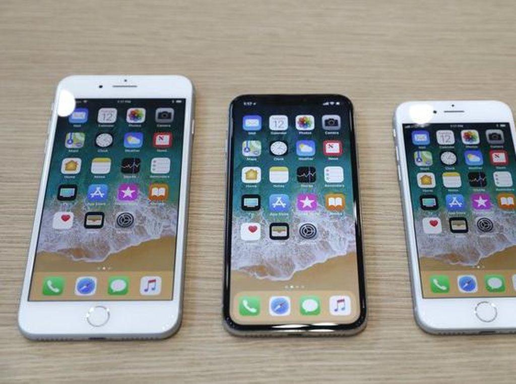 iPhone 8 Tak Laku, Saham Apple Melemah