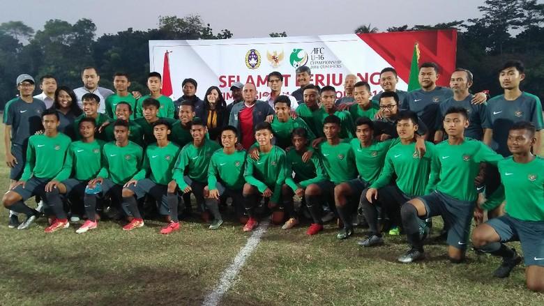 Kemenangan Timnas U-19 Diharapkan Memotivasi Timnas U-16