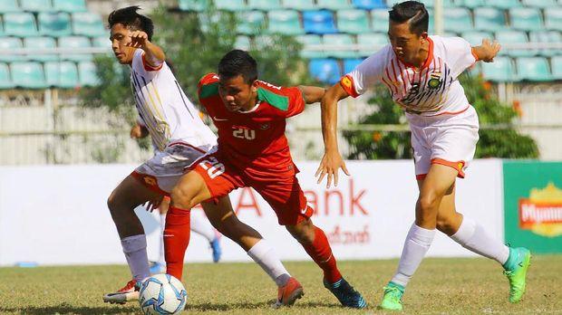 Timnas Indonesia U-18 menang meyakinkan 8-0 atas Brunei.
