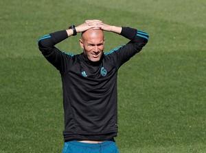 Zidane Pastikan Pemain Madrid Tak Akan Berebut Mengeksekusi Bola Mati