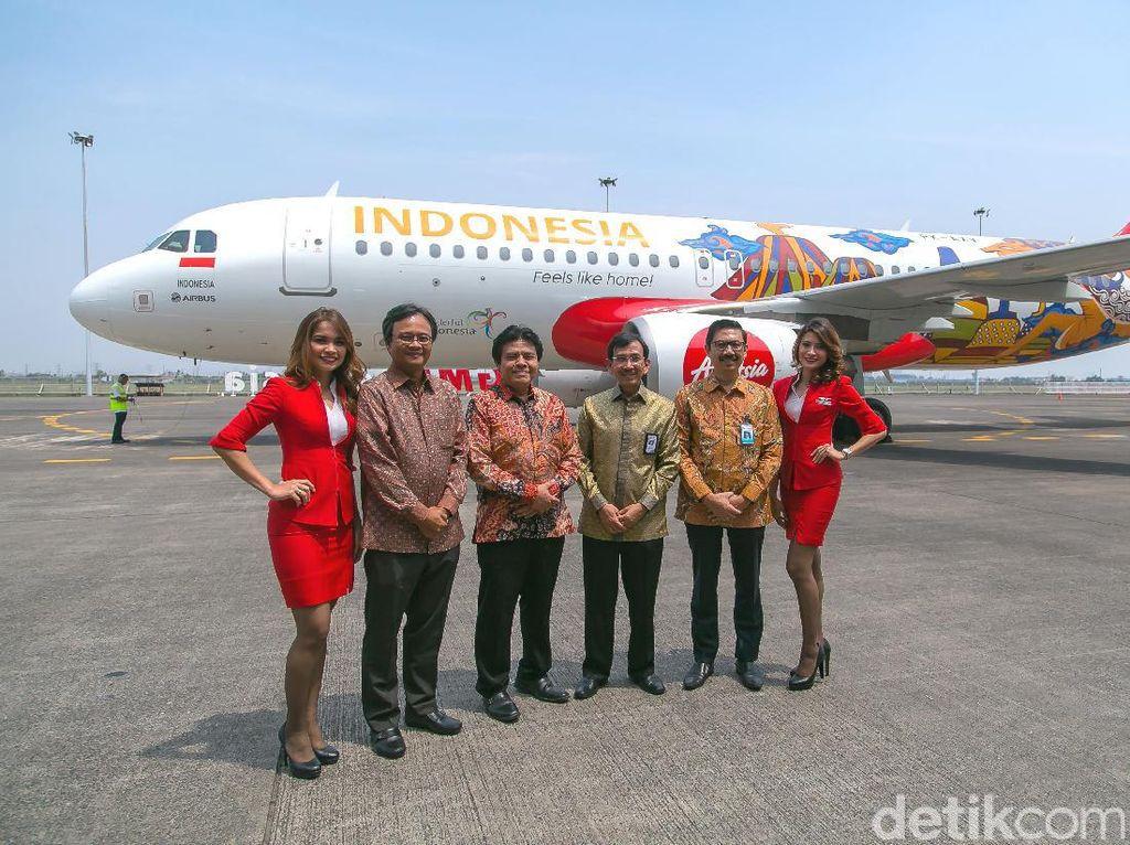 Pujian untuk Pesawat AirAsia Rasa Indonesia
