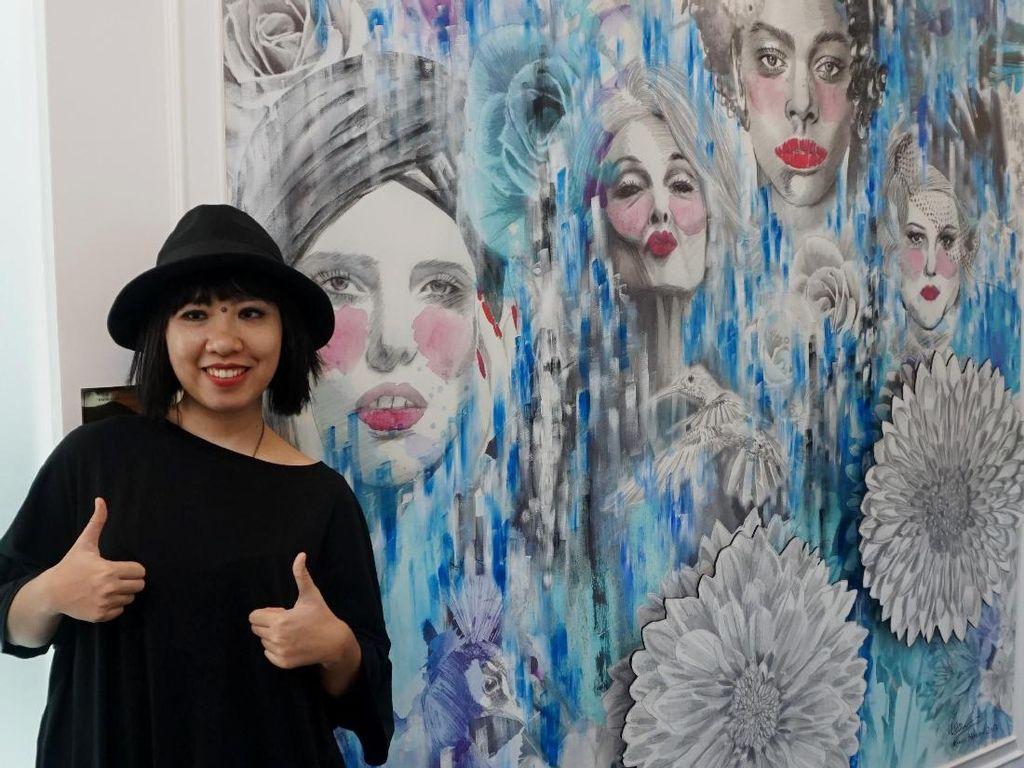 Monica Hapsari Beri Bocoran Karya di Media Art Globale 2020