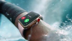 Apple Watch Kini Bisa Seluler dan Basah-basahan