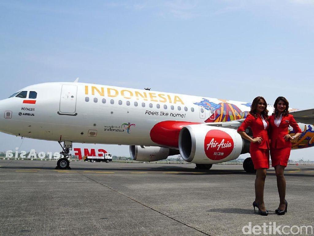 10 Tahun Jadi Maskapai Budget Terbaik, AirAsia Promo Tiket Rp 10 Ribu