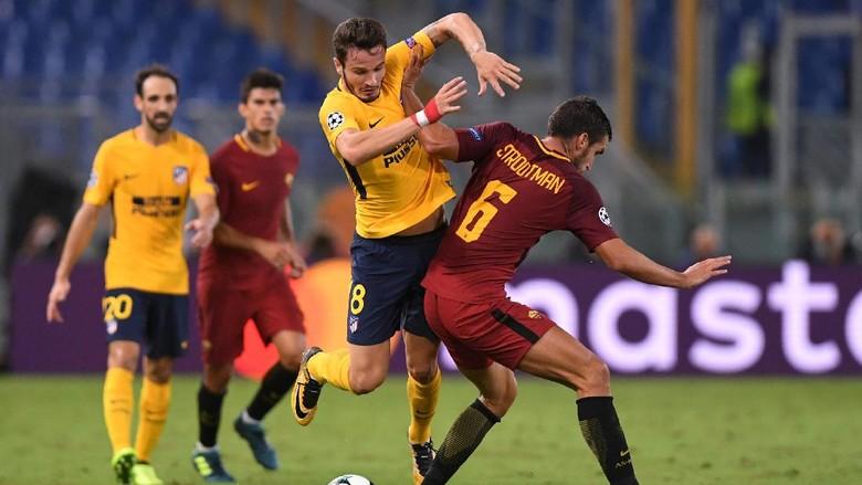 Atletico yang Sedang Akrab dengan Hasil Seri Diuji Roma yang Tengah Oke