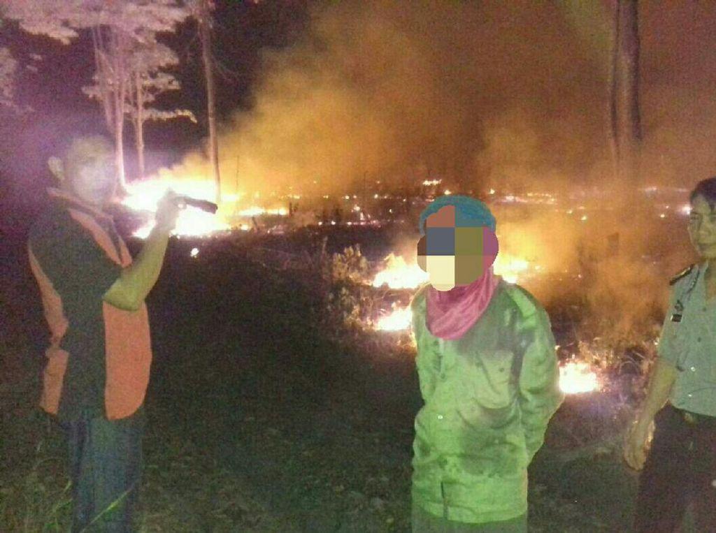 Pembakar 2 Hektare Lahan di Ogan Hilir Ditangkap