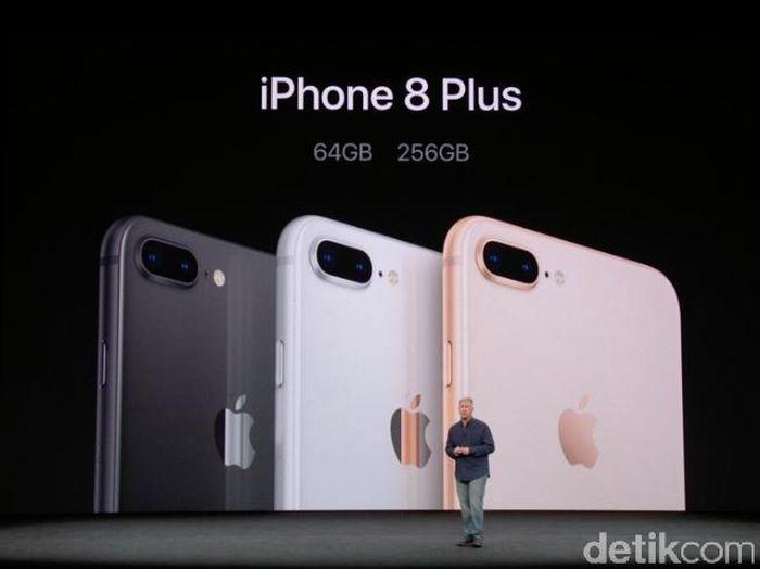 iPhone 8 Plus. Foto: Achmad Rouzni Noor II/detikINET