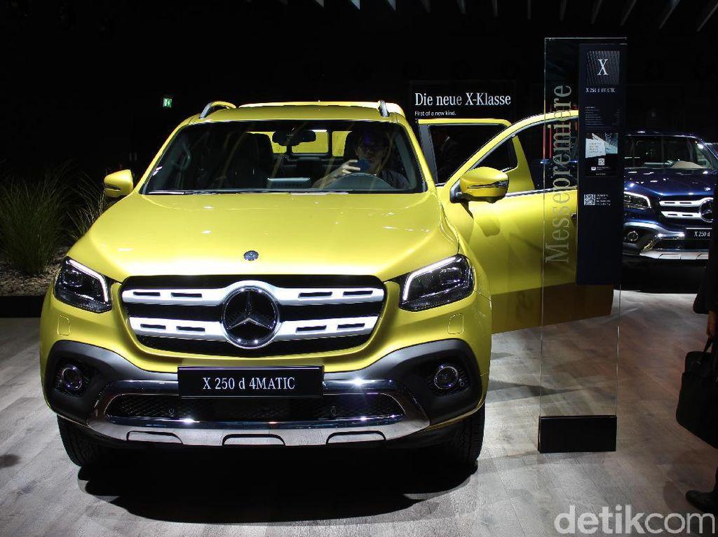 Melihat Lebih Dekat Pikap Perdana Mercedes-Benz X-Class